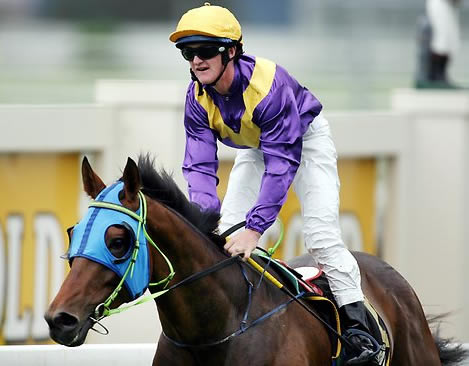DIED TOO YOUNG: Jockey Corey Gilby, pictured here on Adavale Hornet after a win at Doomben in 2006. Picture: Peter Wallis Source: The Courier-Mail