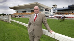 Brisbane Racing Club chief executive Stephen Ferguson to raise money towards a flood relief drive
